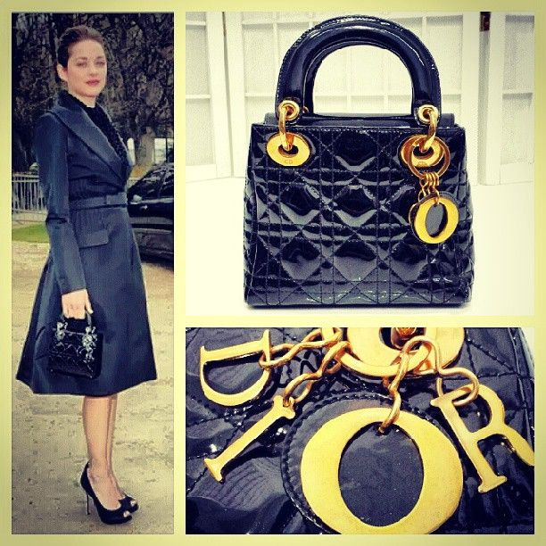 a53b88887eff Christian Dior vintage 1995-96 black patent leather mini  Lady Dior  bag   TriBeCa  resaleriches price  850.00 www.resalerichesnyc.com