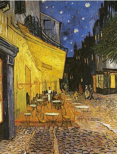 Terrasse de café, Van Gogh