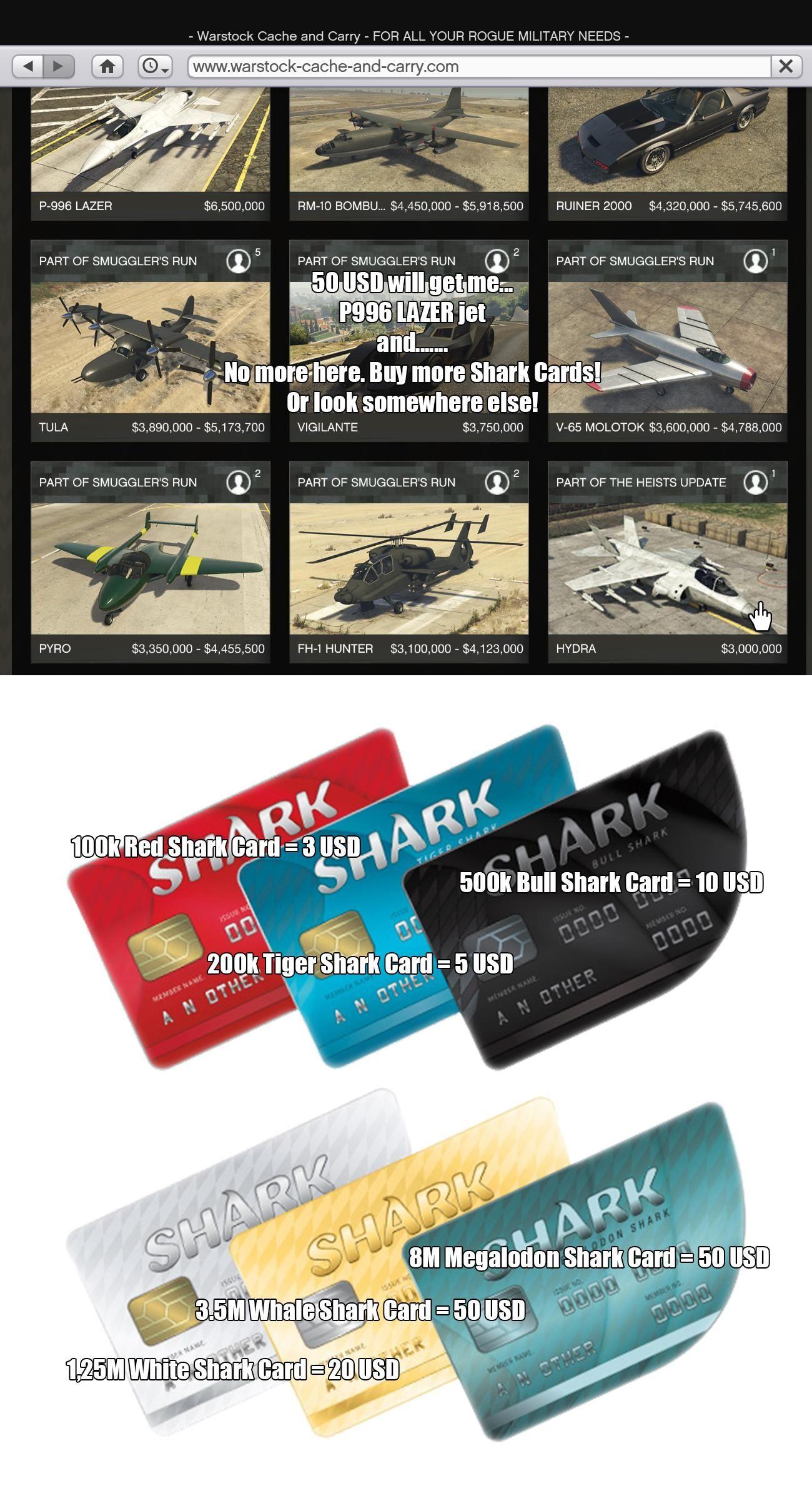 Grand Theft Auto V Bull Shark Cash Card Ps4 Digital Code S