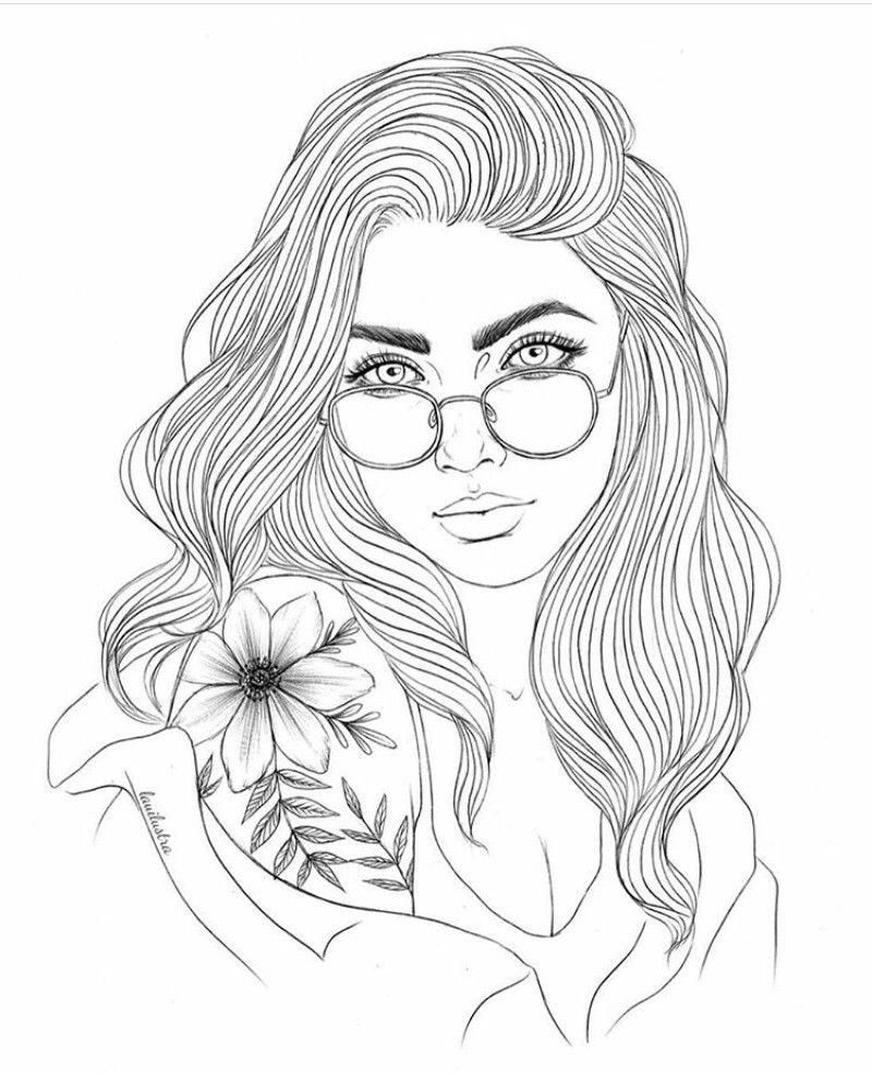 Gurlll People Coloring Pages Coloring Book Art Coloring Pages