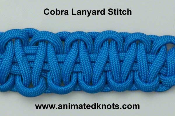 Animation Cobra Knot Solomon Bar Or Portuguese Sinnet Tying