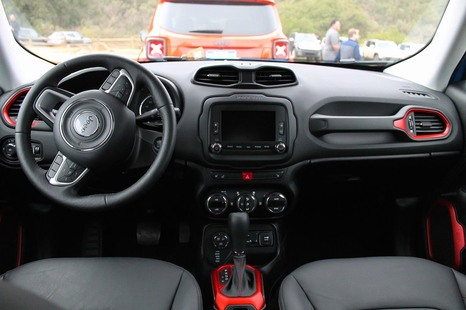 Jeep Renegade sport 2015 interior Jeep renegade, 2015