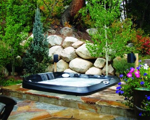 Outdoor Spa Installation In Aspen Co Jacuzzi Hot Tubs Dealer Ajax Pool Spa Jacuzzi Outdoor Hot Tub Outdoor Jacuzzi Hot Tub