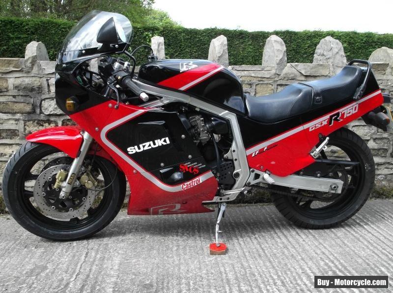 SUZUKI GSXR 750 SLABBY SLABSIDE BABY GSXR 1100 #suzuki #gsxr ...