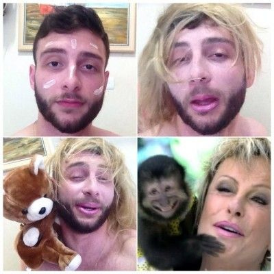 Blog  IgoR AguiaR: Aderindo ao Makeup Transformation