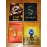 The Books of Ember Series (ages 9 and up).  I didn't like book 3 (The Prophet of Yonwood) and felt like it was preachy and didn't contribute anything to the series.  The other three books were great!