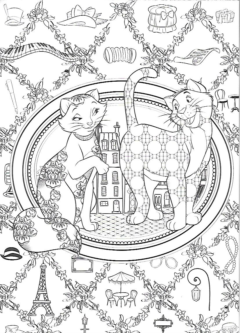 Aristocats Disney Coloring Pages Disney Princess Coloring Pages Cute Coloring Pages [ 1146 x 827 Pixel ]
