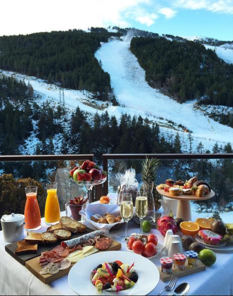 Hotel Breakfast Ideas Dates Picnics Hora Do Café Winter
