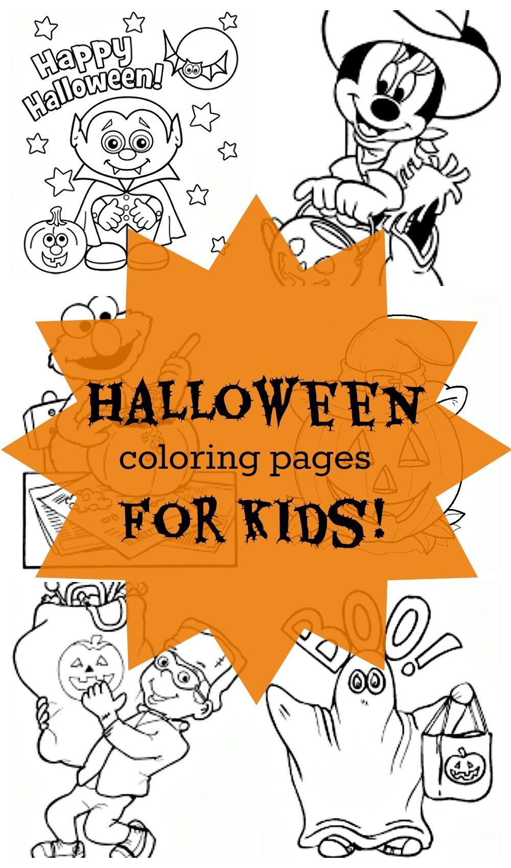 free printable halloween coloring pages for kids print them all