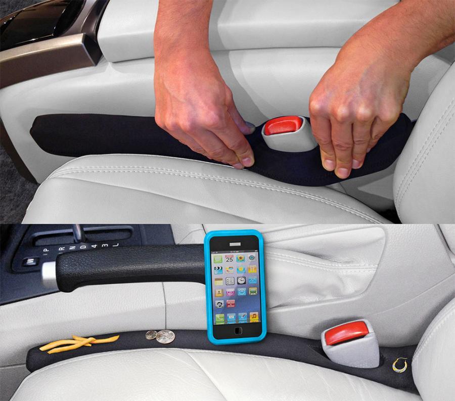 Photo of Drop Stop Automotive Car Seat Gap Filler, (As Seen on TV, Shark Tank – 1 Unit ) – Walmart.com