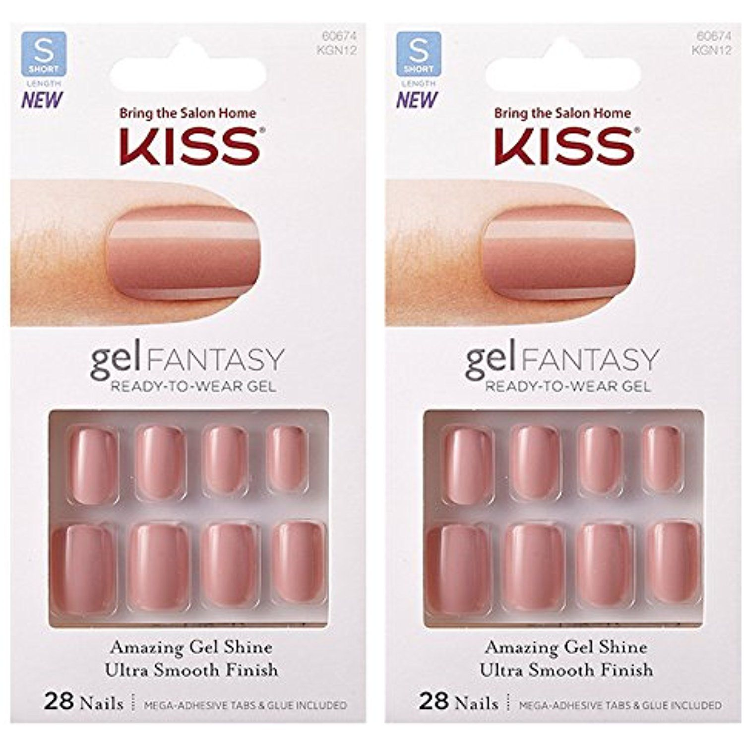 2-PACK Kiss GEL FANTASY \