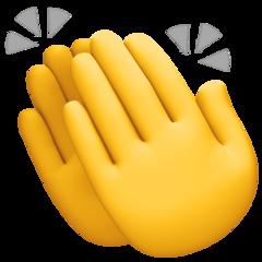 Clapping Hands Sign Emoji In 2020 Hand Emoji Clapping Hands Emoji Emoji