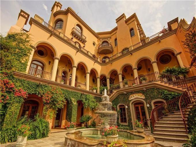 Casa Carino San Miguel De Allende Agave Sotheby S International Realty Hacienda Style Homes Hacienda Homes Spanish Style Homes