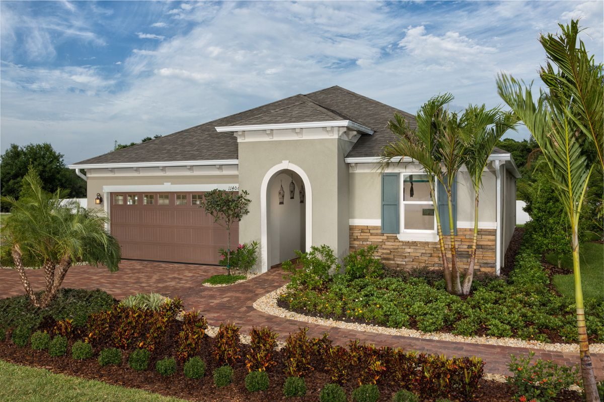 Mirabella is a community of new homes in wimauma fl by kb - Florida home exterior paint colors ...