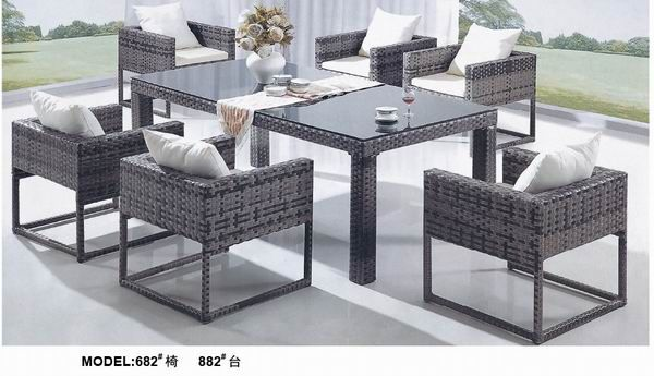 New design rattan table and chair www.facebook.com/pages/Foshan-Fantastic-Furniture-CoLtd                                                         www.ftc-furniture.com