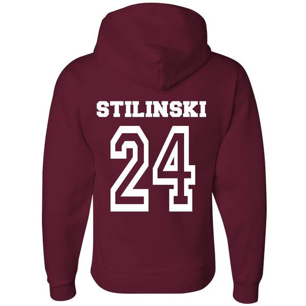 c8d114fb49009c ON SALE Teen Wolf Beacon Hills Lacrosse Hoodie or T-Shirt - Stilinski 24  and other apparel