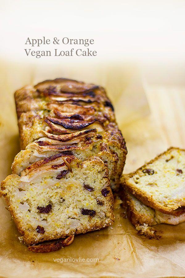 Apple And Orange Vegan Loaf Cake Recipe Recipes To Cook Vegan
