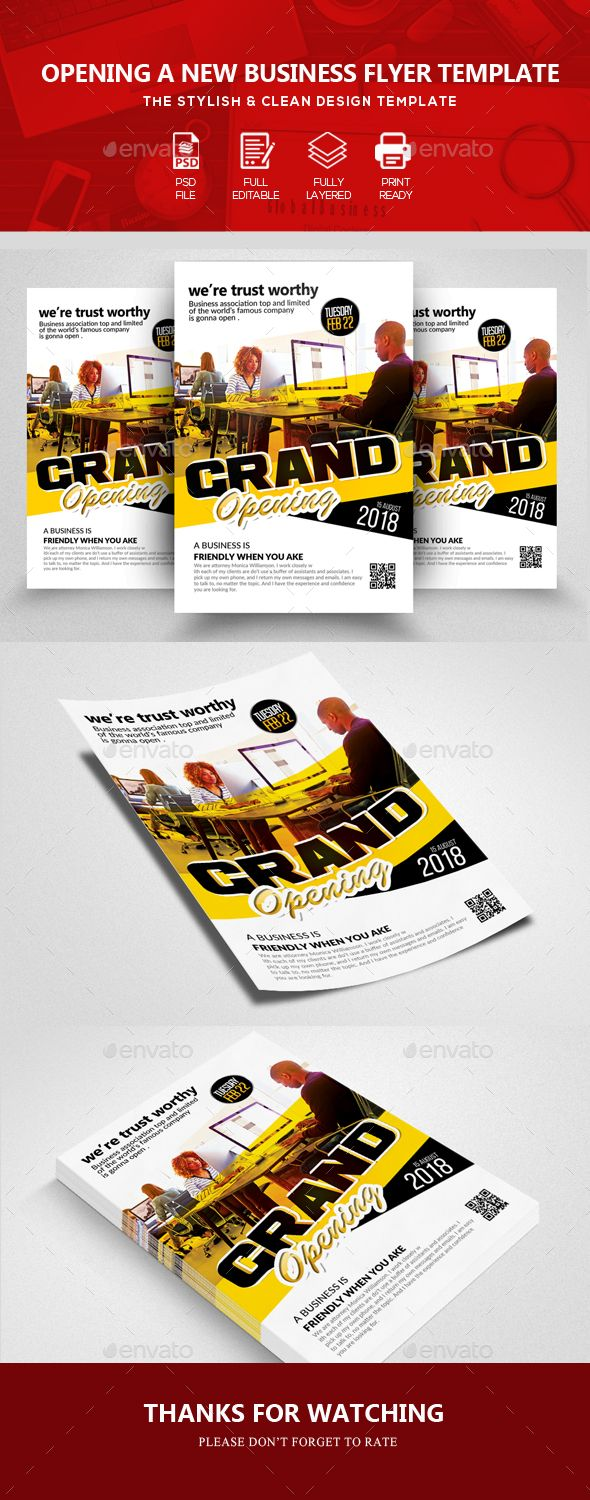 grand opening business flyer templates grand opening flyer template