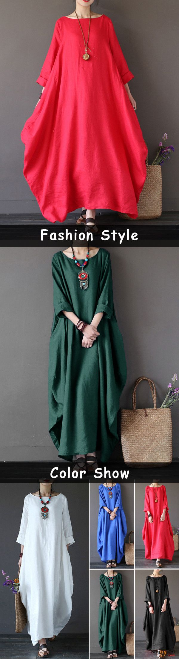 Usfree shipping women dresses long dresses dresses casual