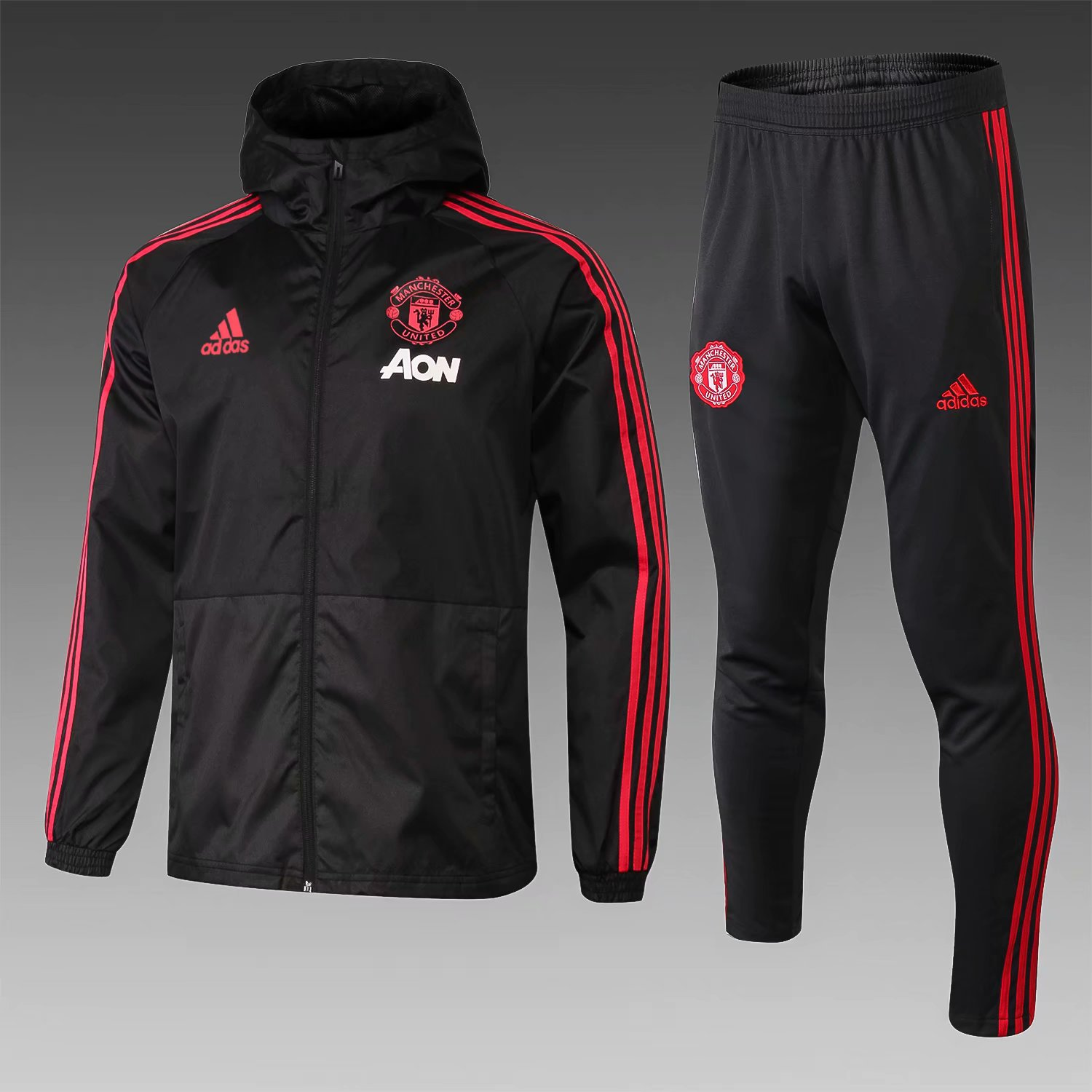 Football Vestes Veste Manchester United Windbreaker 2018 19