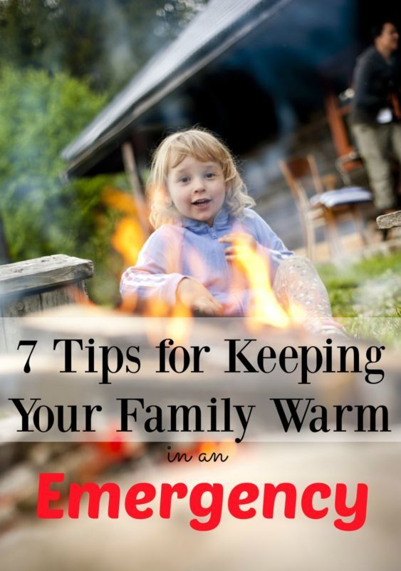 7 Essentials For Keeping Your Family Warm In An Emergency