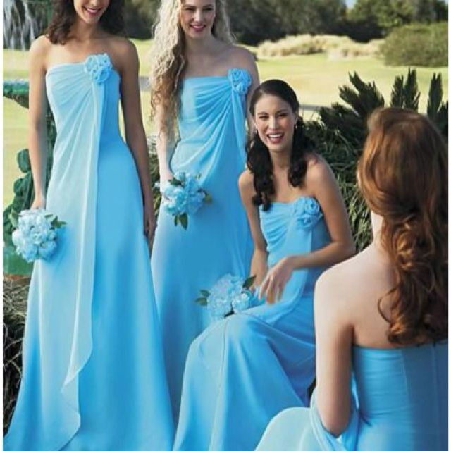 I love these bridesmaid dresses!!!