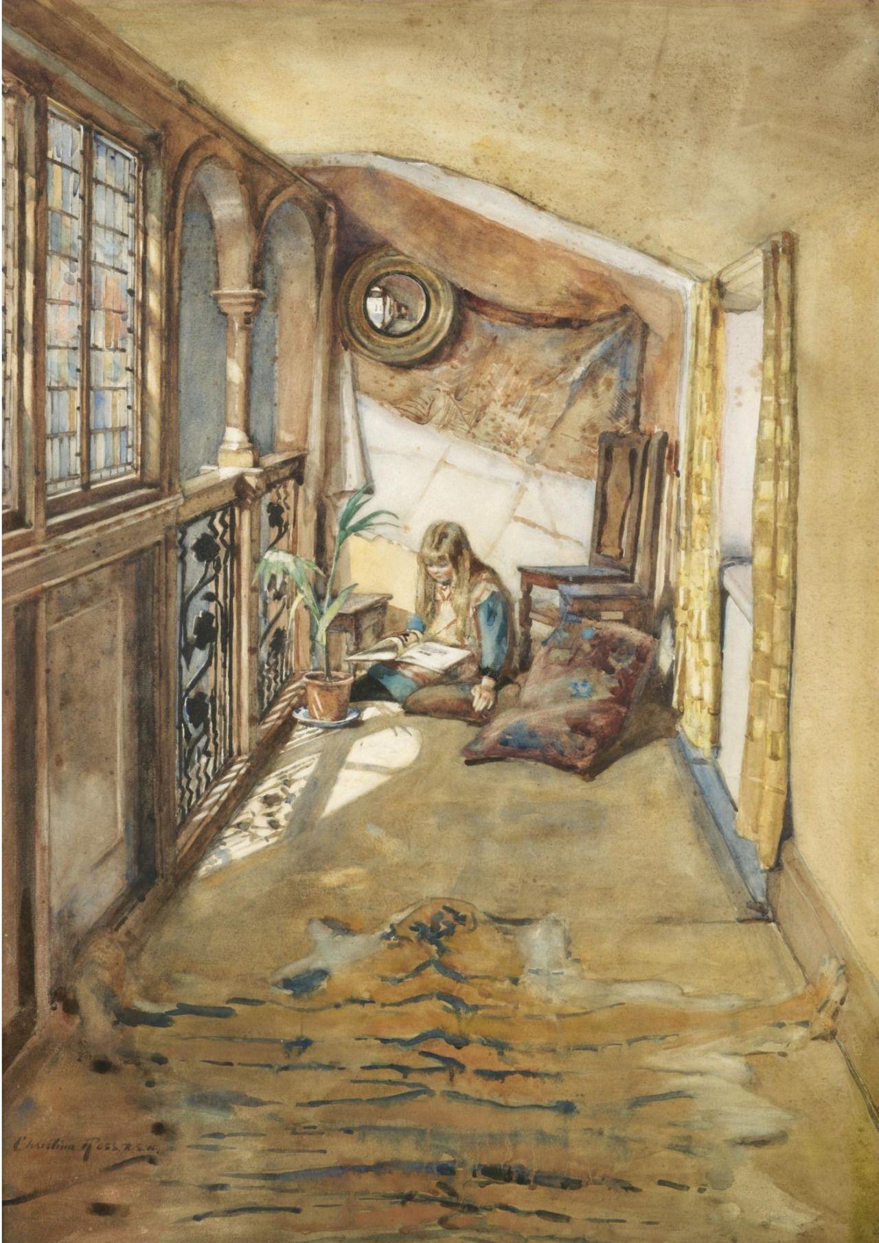 Fairy Tales. Christina Paterson Ross (Scottish, 1843-1906). Watercolour over…