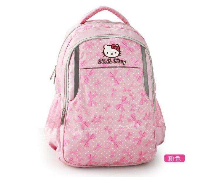 Kız Çocukları için 2015 ve 2016 Pembe Okul Sırt Çantası Modelleri - Girls Pink School Bag Models (4)