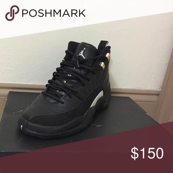 separation shoes 676e8 25a8d Air Jordan master 12s og authentic size 6y Black and white ...