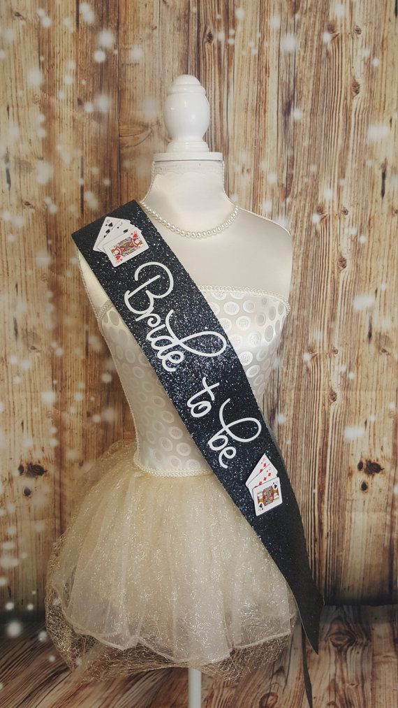 Hey I Found This Really Awesome Etsy Listing At Https Www 502020585 Las Vegas Theme Bride To Be Sash Black