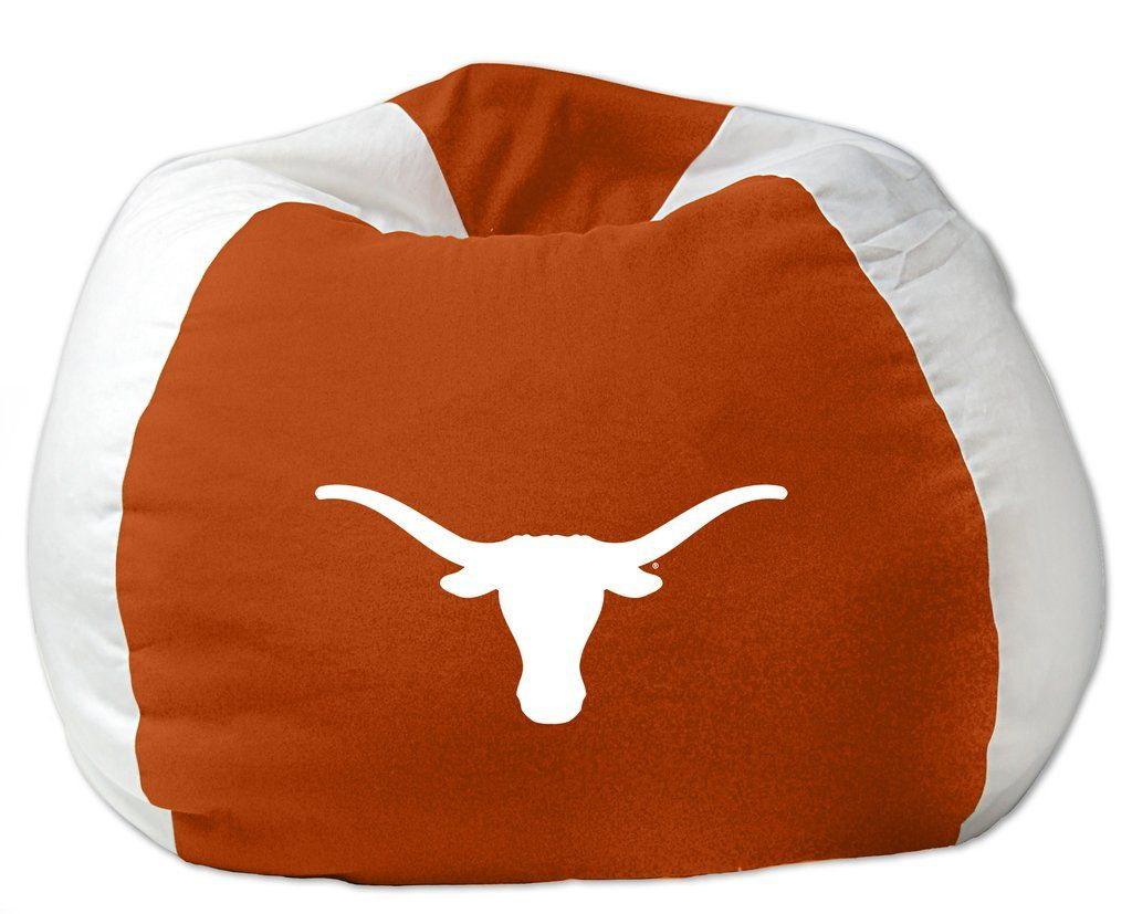 Fantastic Texas Official Collegiate 102 Bean Bag Chair By The Ncnpc Chair Design For Home Ncnpcorg