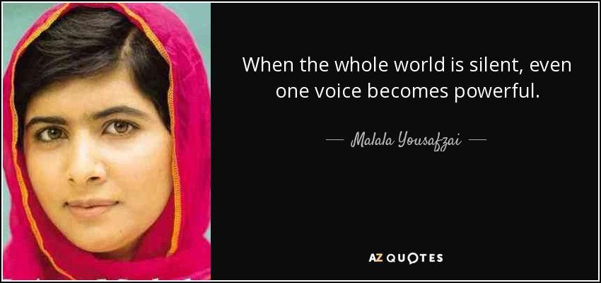 I Am Malala Quotes Malala Yousafzai  I Am Malala The Girl Who Stood Up For Education