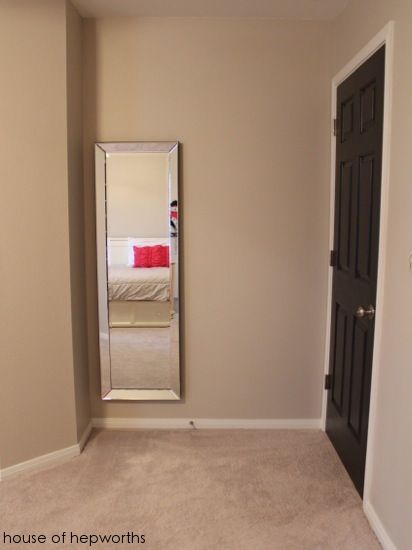 How To Hang A Heavy Full Length Leaner Mirror On The Wall Home
