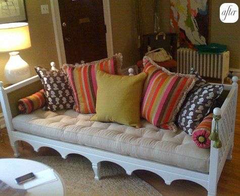 Nice Hayfield House: Couch Makeover