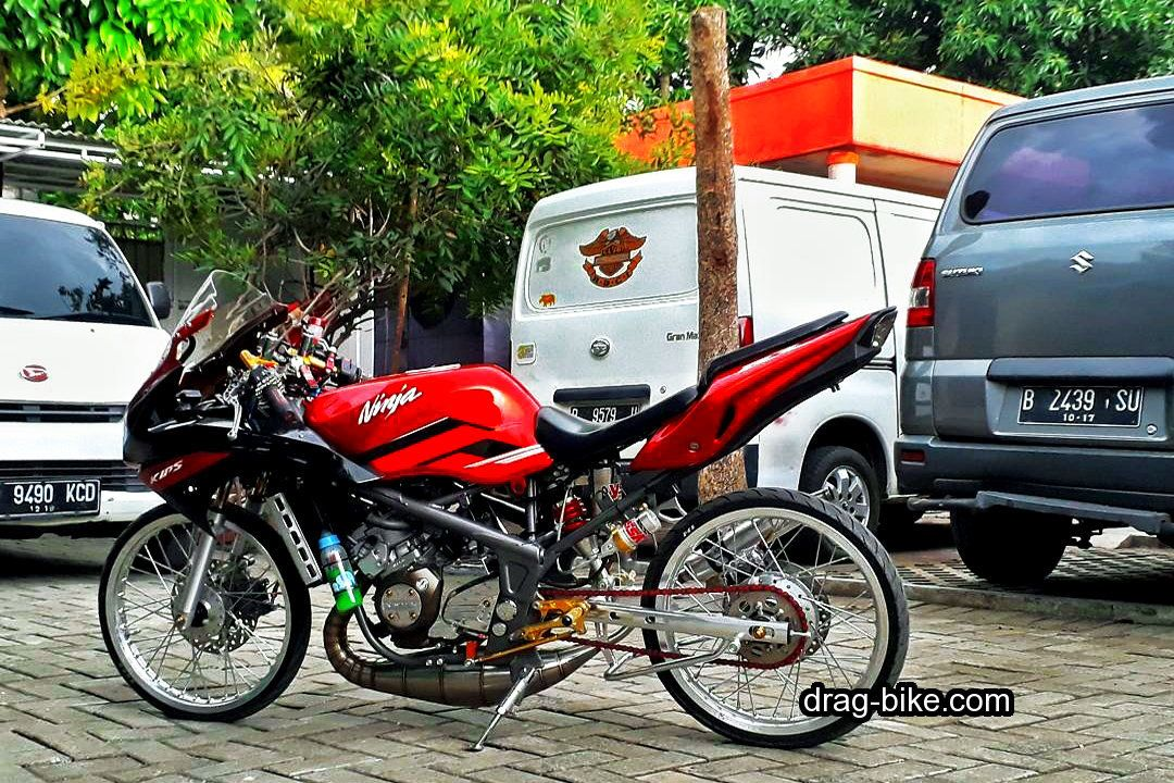 Gambar Drag Ninja Rr Modif Thailook Style Sepeda Gambar Motor