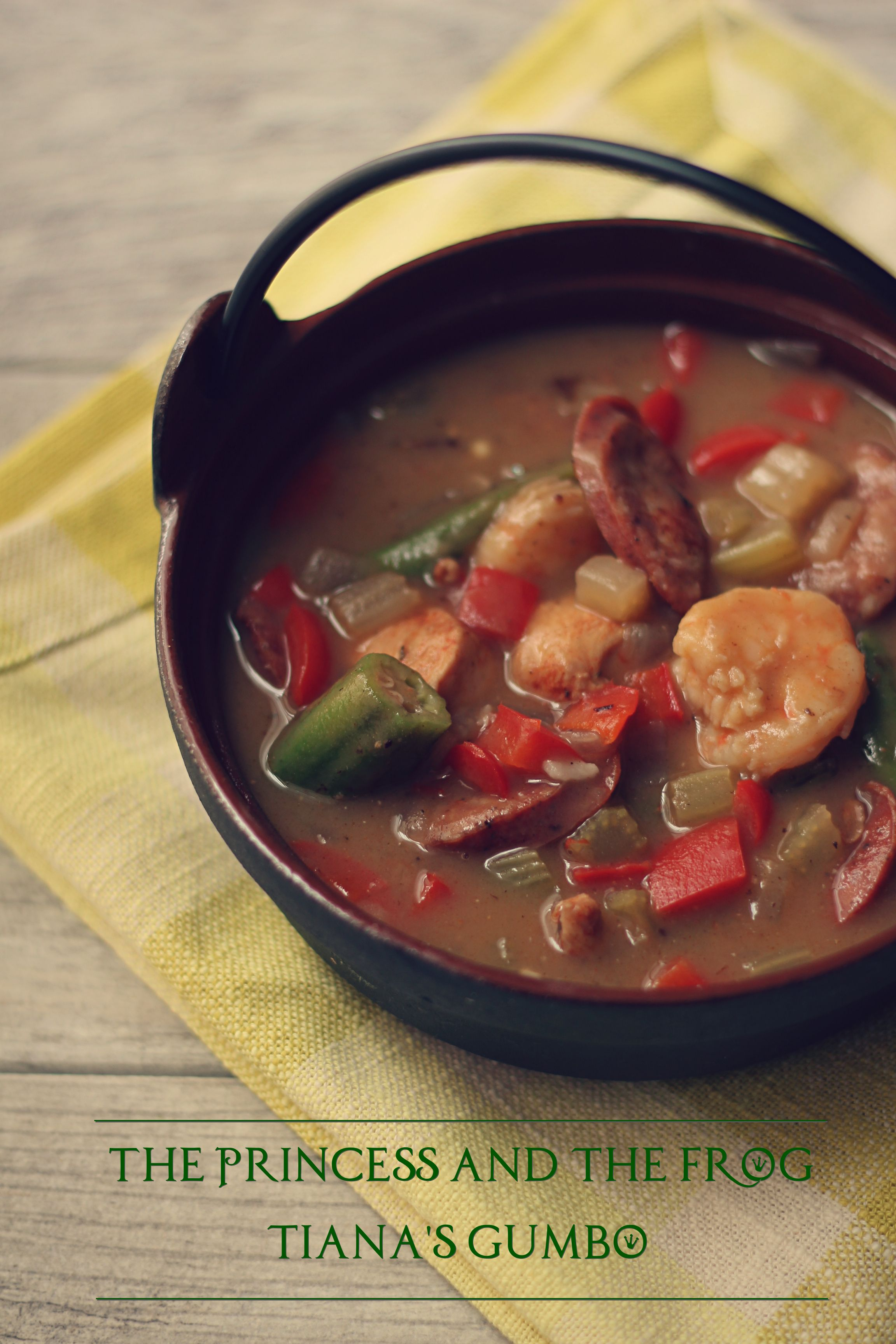 Dianas famous gumbo inspired by disneys the princess and