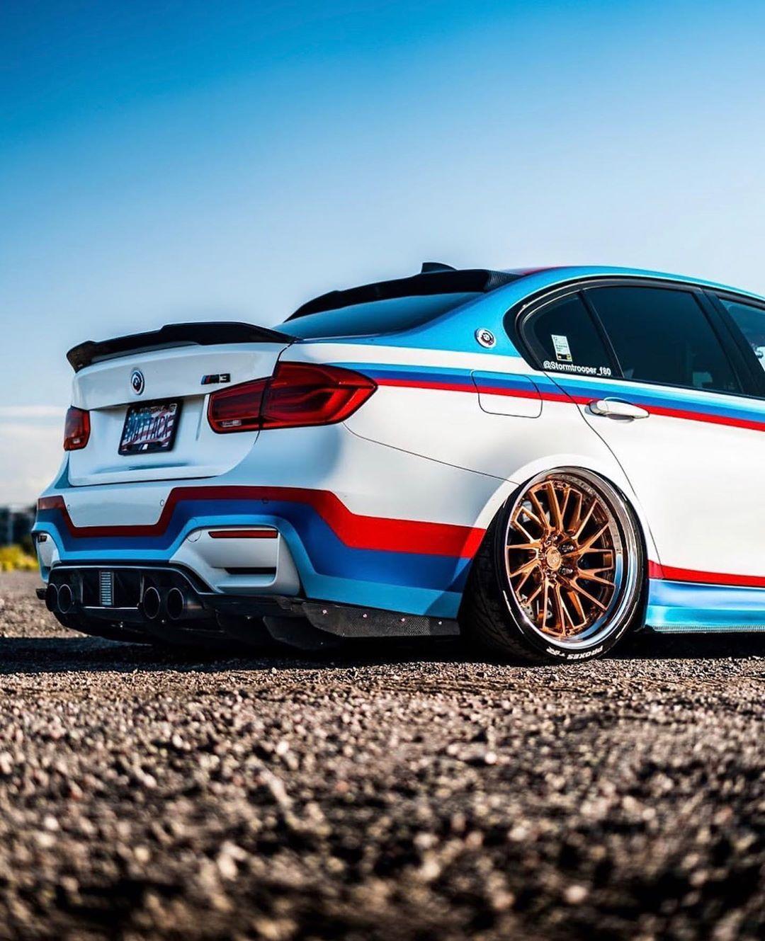 BMW F80 M3 In ///M Livery @stormtrooper_f80