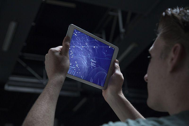 Aplicativo mostra os ambientes digitais criados pelas ondas de rádio em tempo real