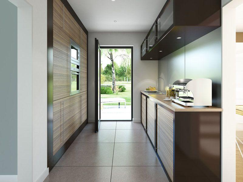 Dieses Beispiel zeigt, dass auch kleine Küchen ganz groß - kleine küchen beispiele
