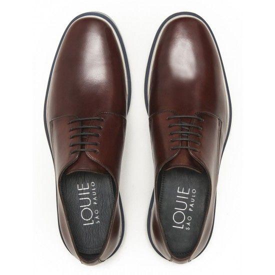 e2106fad20 Sapato Masculino Derby Loring Havana