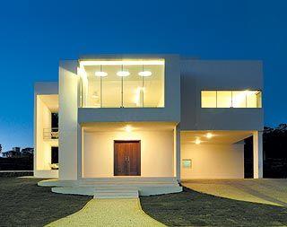 fachadas de casas modernas pequenas - Fotos De Fachadas De Casas
