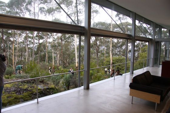 glenn murcutt simpson lee house with concrete floor elevated above the site about 1 m the. Black Bedroom Furniture Sets. Home Design Ideas