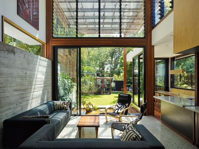 Light in spades Garden House Architect house, Home