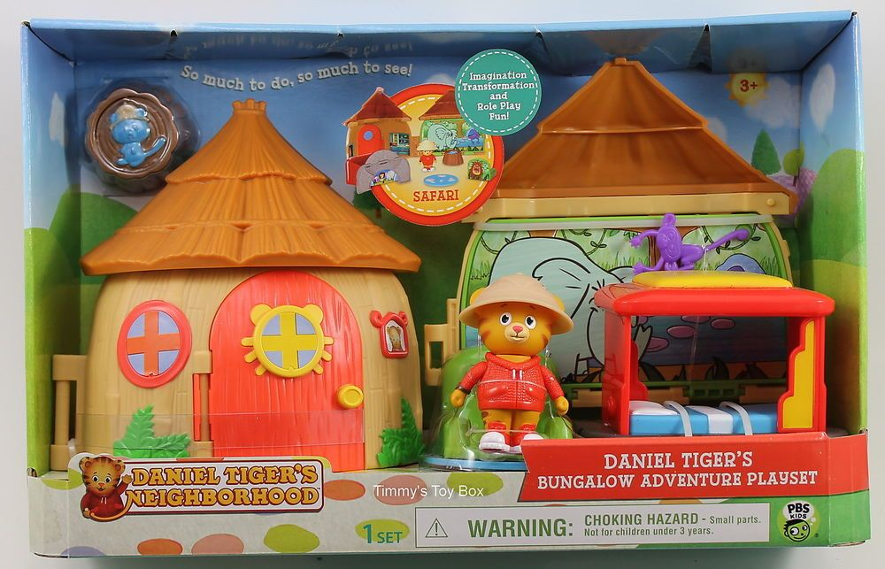 Daniel Tiger's Neighborhood Bungalow Adventure Playset Safari Adventure #JacksPacific
