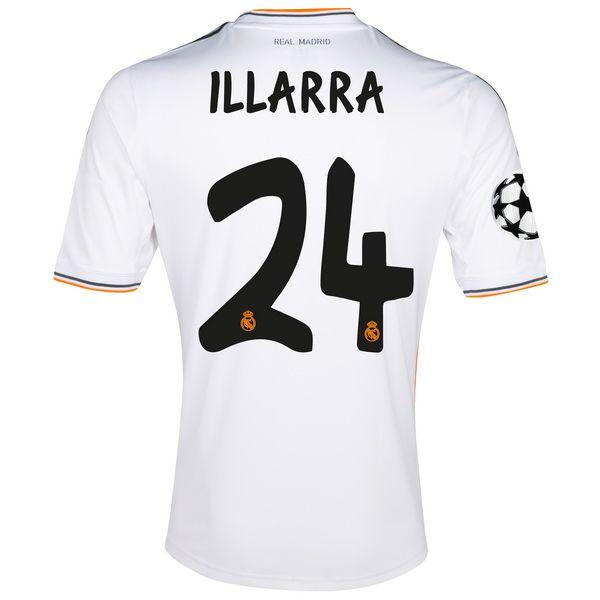 Illarra de Camiseta Del Real Madrid Primera Equipacion 20132014 9c11d43364ee4