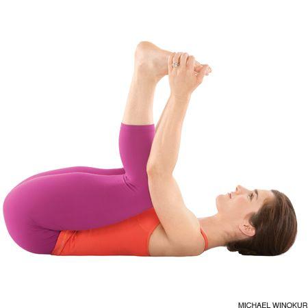 Happy Baby Pose Ananda Balasana Yoga Poses For Beginners Core Yoga Poses Yoga For Beginners