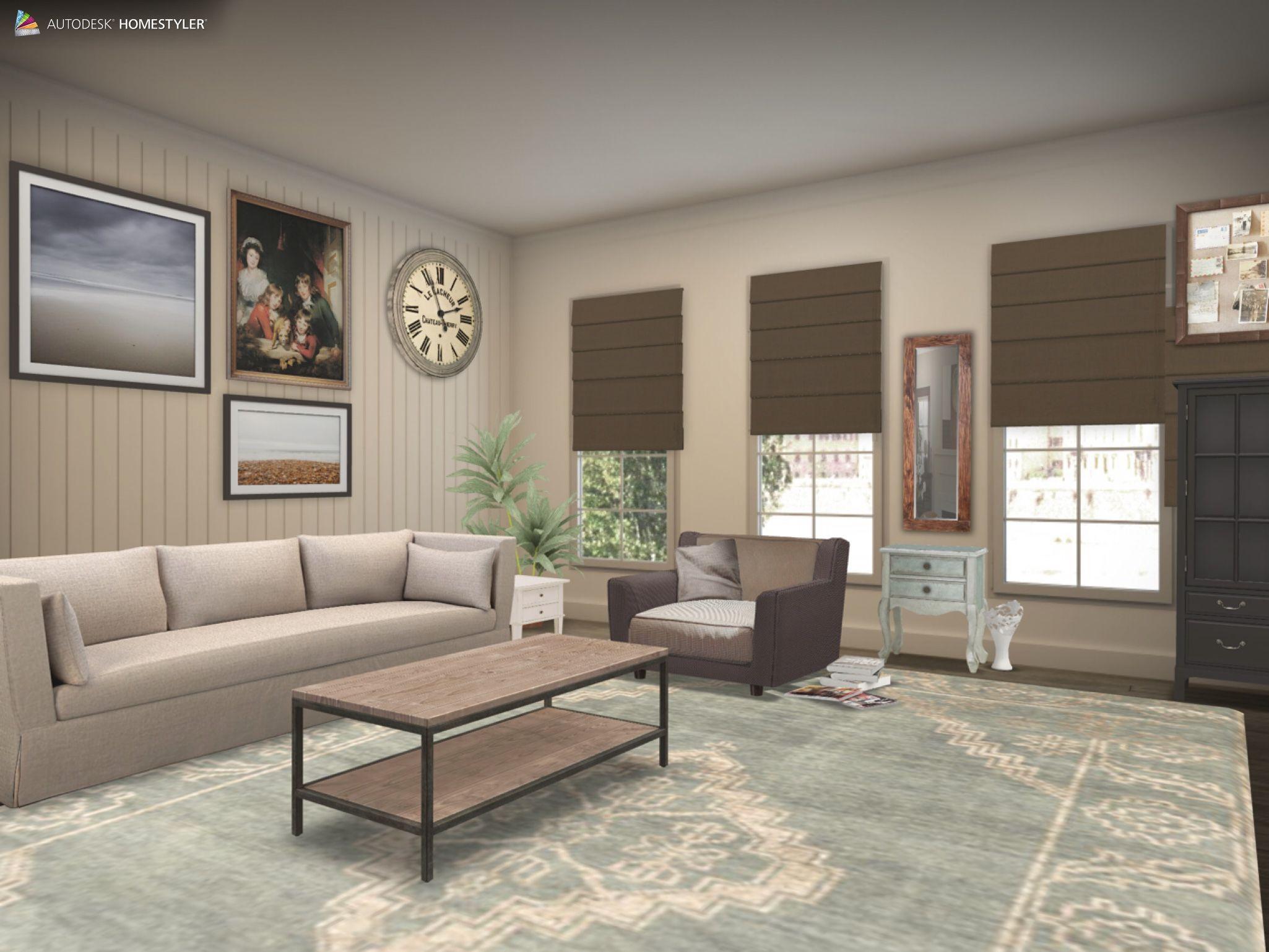 "Eche un vistazo a mi #diseño interior ""Sala de estar"" de #Homestyler http://www.homestyler.com/mobile"