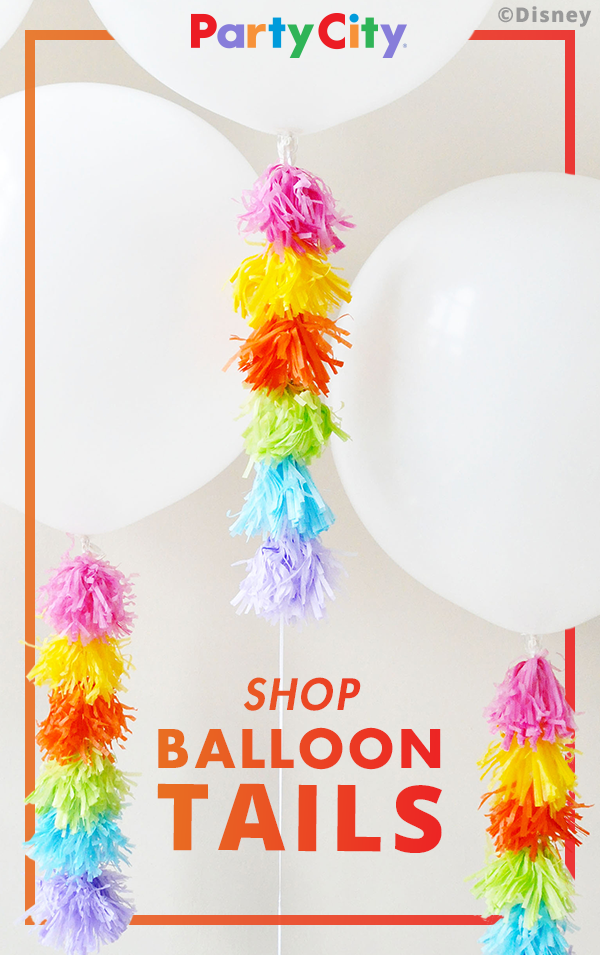 Shop Party City For Balloon Tails That Will Plus Up Your Next Birthday Also Rh