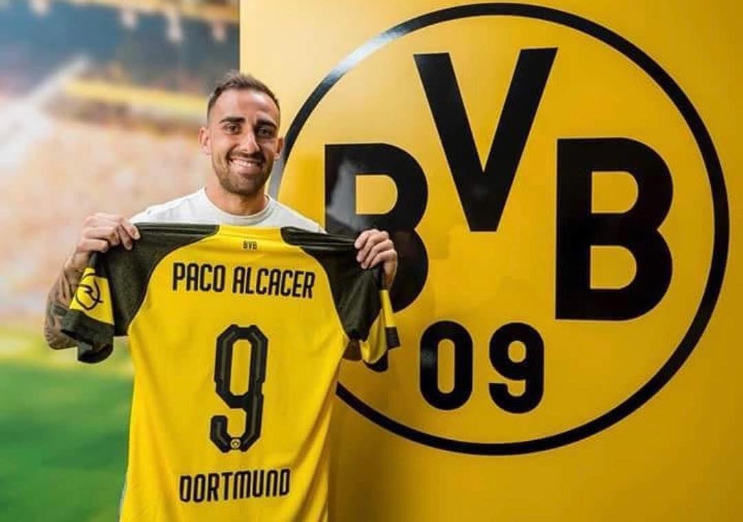 Paco Alcacer Muy Contento E Ilusionado De Empezar Esta Nueva Etapa En El Bvb09 I M Very Happy And Excited To Start This New S Dortmund Paco Alcacer Contract