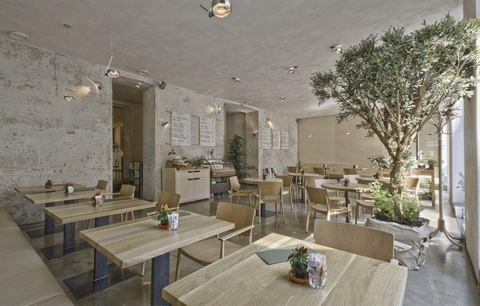 Mistral Café - Restaurante Happy Silla Sillon Andreu World - mesas de diseo